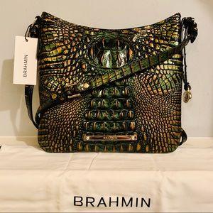 Brahmin Jody Samba Melbourne Leather Crossbody Bag